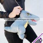 A2034-Mochila-de-Peluche-Suave-Dinosaurio-Rex-Gris-Acero-inoxidable-bisuteria-fabricante-mayorista-1.jpeg