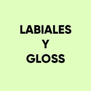 Labiales y Gloss