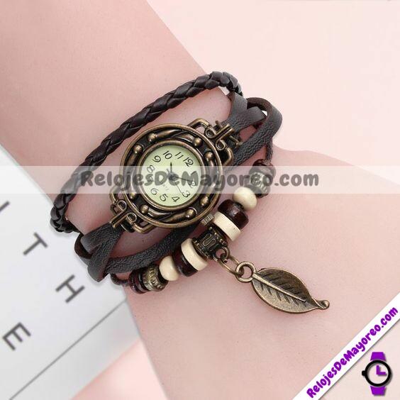 R209-Reloj-pulsera-negro-vintage-dije-hoja-extensible-de-piel.jpg