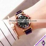 R3925-Reloj-Metal-Mesh-Iman-Numeros-Romanos-Destellos-Morado-reloj-de-moda-al-mayoreo.jpg