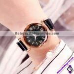 R3926-Reloj-Metal-Mesh-Iman-Numeros-Romanos-Destellos-Negro-reloj-de-moda-al-mayoreo.jpg